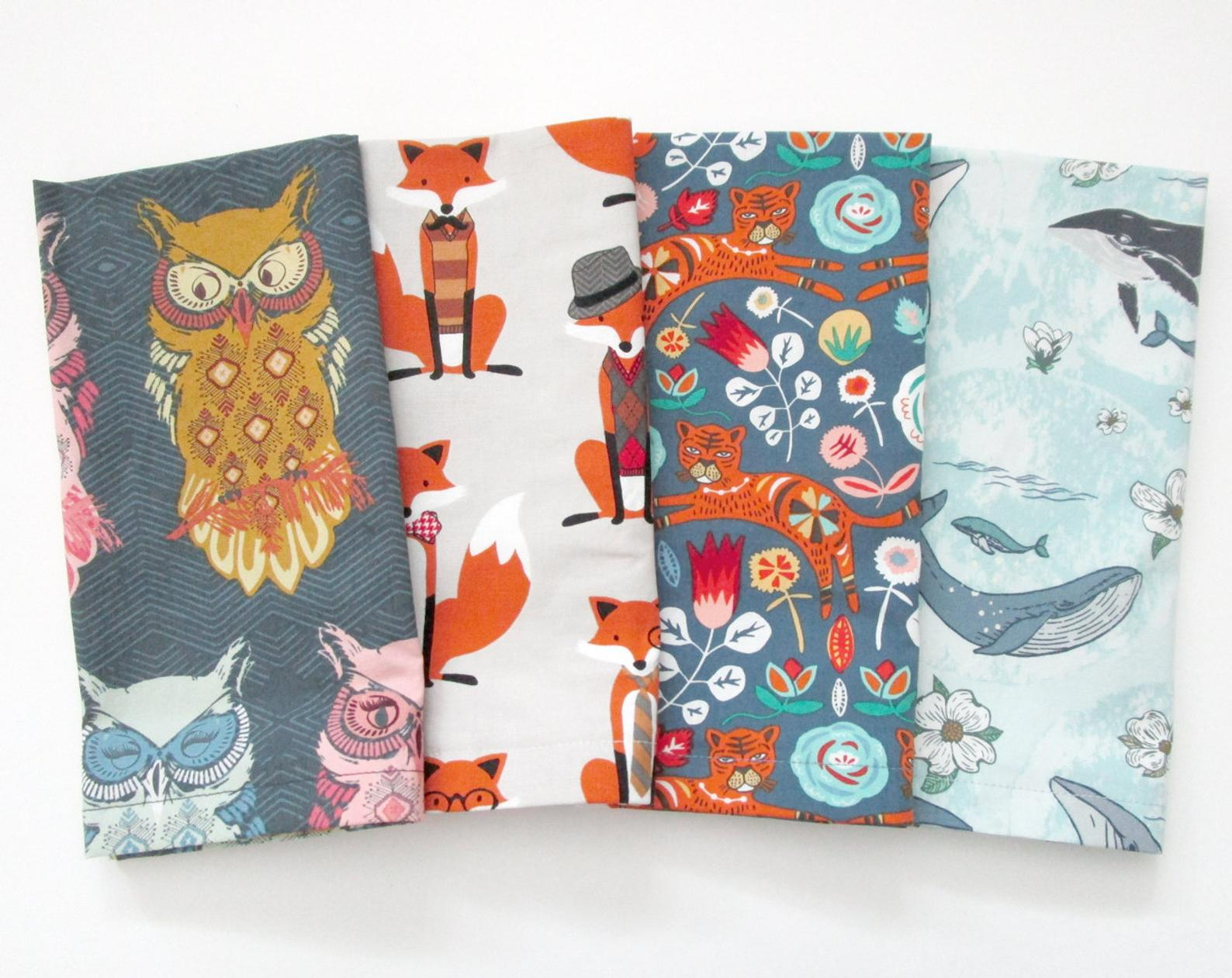 animal napkins - variety pack